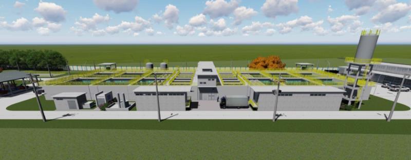 Projeto da nova ETA, a ser construída a partir de 2021