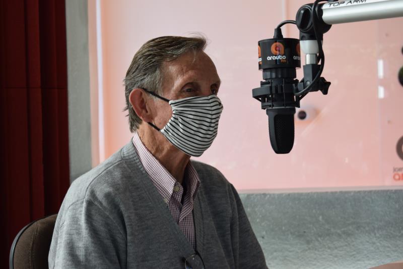 Candidato a prefeito do Solidariedade foi o sétimo entrevistado da série da Arauto FM