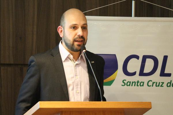 Marcio Farias Martins se despede à frente da presidência da CDL Santa Cruz
