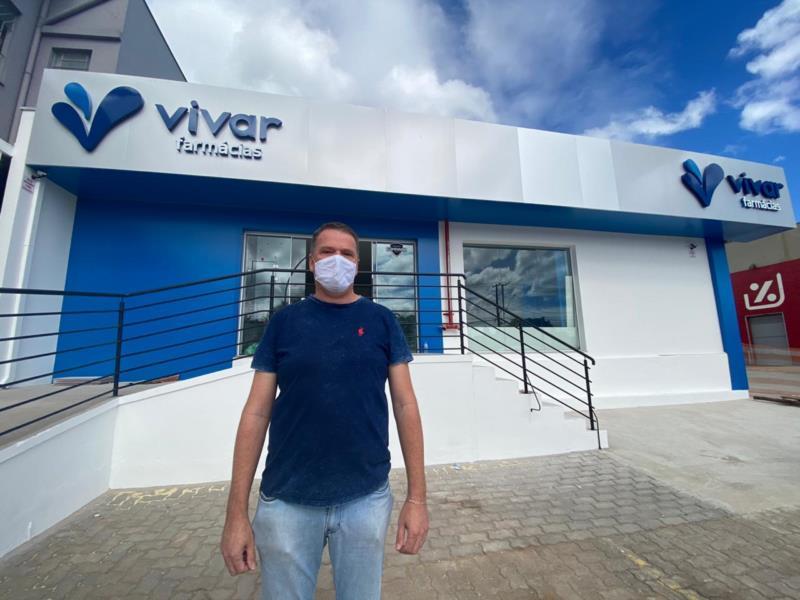 Rede Vivar inaugura farmácia até o final do ano em Santa Cruz