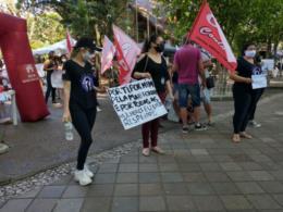 Protesto em Santa Cruz pede justiça por Mari Ferrer e mais respeito pelas mulheres