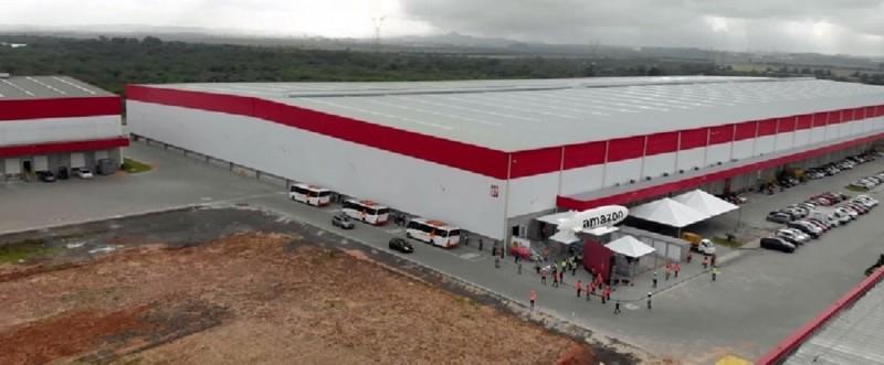 Centro de distribuição em Nova Santa Rita tem área total de 41 mil metros quadrados