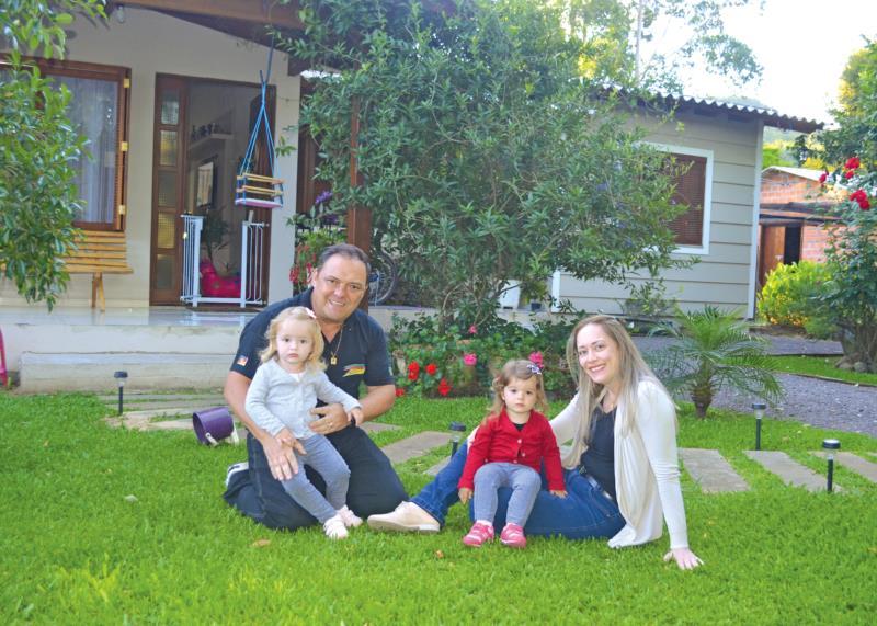 Diogo e a família vivem no interior de Linha Formosa