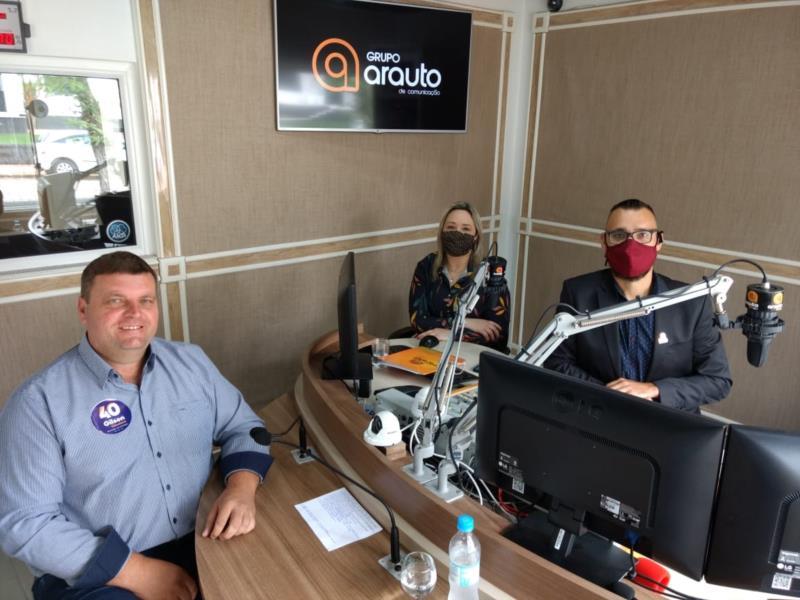 AO VIVO: Gilson Becker é o segundo entrevistado da série da Arauto FM com os candidatos a prefeito de Vera Cruz