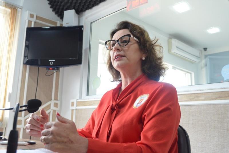 """""""Estou me colocando à disposição novamente para estar ao lado das pessoas e construir o município que nós queremos"""" diz Rosane Petry"""