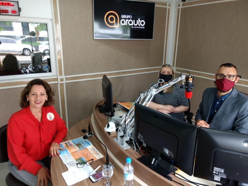 AO VIVO: Rosane Petry é a entrevistada de hoje na série da Arauto FM