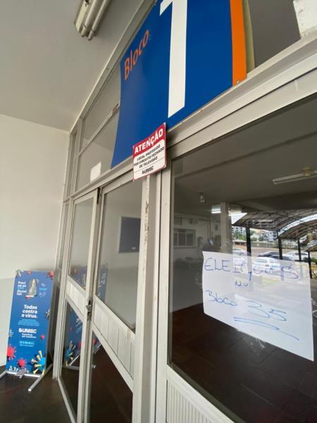 Eleitores reclamaram de trocas na Unisc