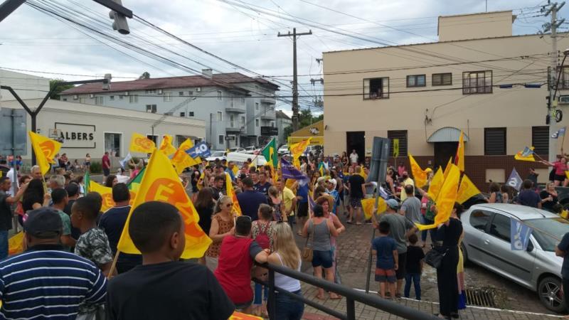 Comemoração ocorre na Rua Tirantes, ao lado da Praça José Bonifácio