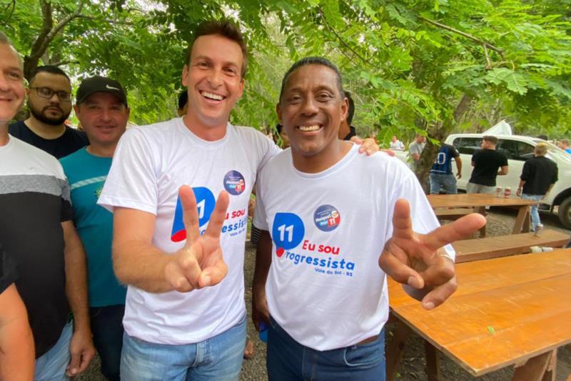 Em Vale do Sol, Maiquel festeja a reeleição
