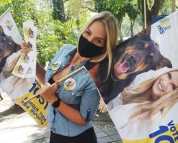 Bruna Molz é a candidata a vereadora mais votada de Santa Cruz em 2020