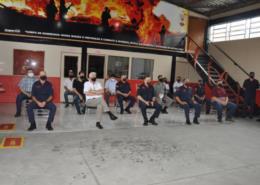 Corpo de Bombeiros de Vera Cruz recebe doação de R$ 180 mil em materiais