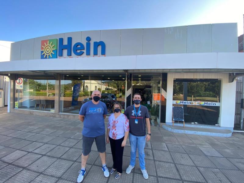 Comercial Hein é liderado em família