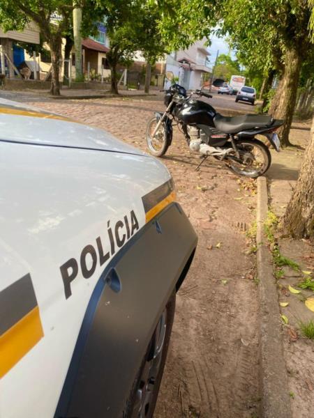 Moto havia sido roubada no dia 8 de novembro no município