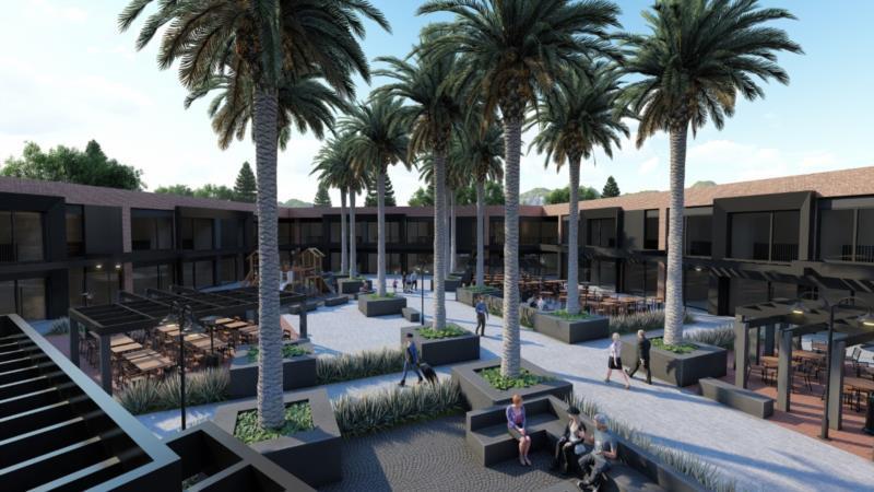 Começam obras do primeiro shopping a céu aberto de Santa Cruz