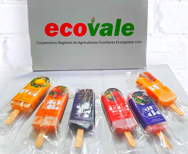 Açaí, jabuticaba, butiá e bergamota são alguns dos sabores disponíveis para os consumidores