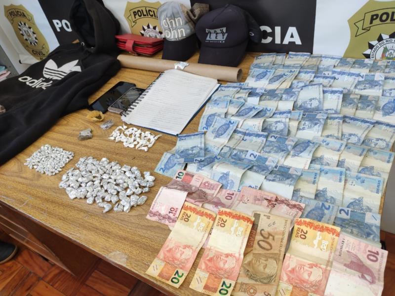 Prisão realizada pela Polícia Civil aconteceu na manhã desta sexta-feira no Bairro Industrial de Arroio do Tigre