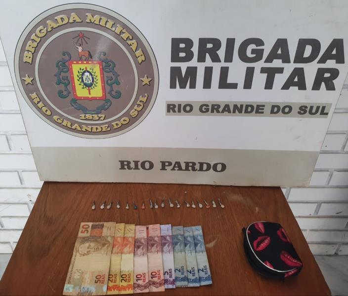 Mulher é presa por tráfico de drogas em Rio Pardo