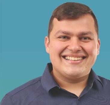 Cesar Garcia tem 26 anos e é o vereador mais jovem eleito
