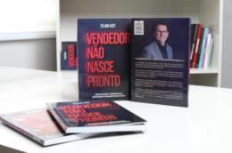 Telmo Kist lança livro sobre técnicas de vendas