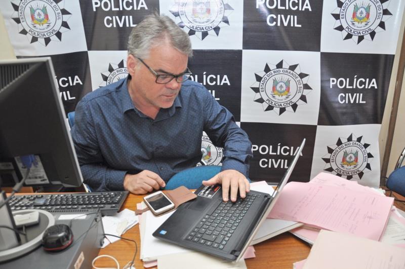 Delegado Paulo César Schirrmann investiga o caso