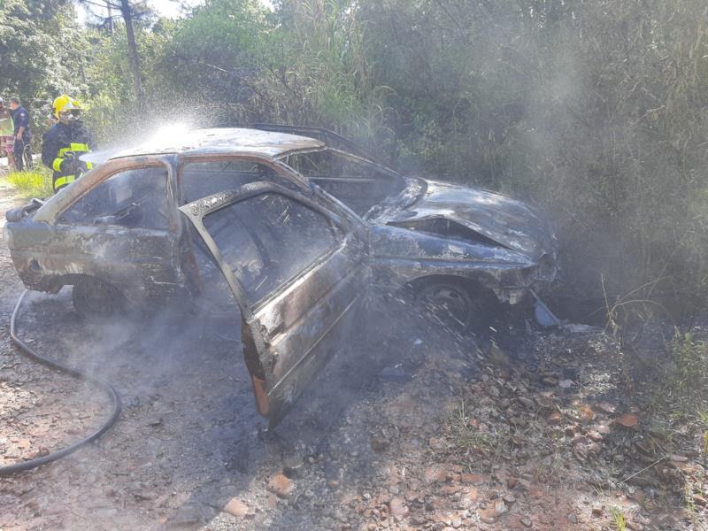 Houve perda total do veículo