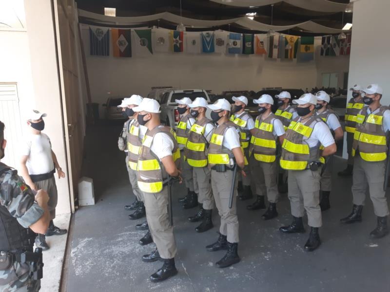 Novos soldados já estão atuando nas ruas