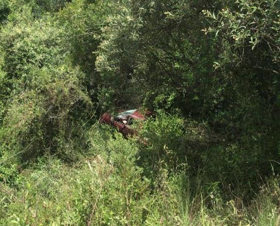 Veículo estava à margem da RSC-471