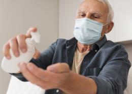 Arauto saúde: como cuidar dos idosos durante a pandemia do coronavírus?