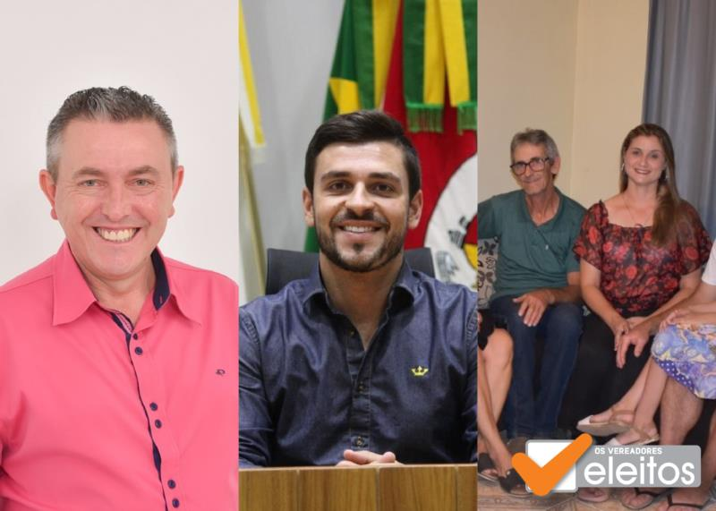 Gerson e Sérgio foram eleitos em Santa Cruz do Sul e Vaneila em Vera Cruz