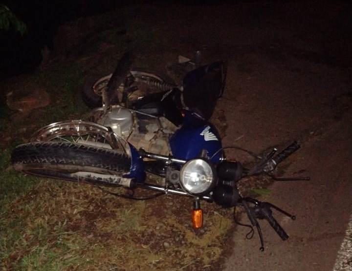 Motociclista sofreu ferimentos