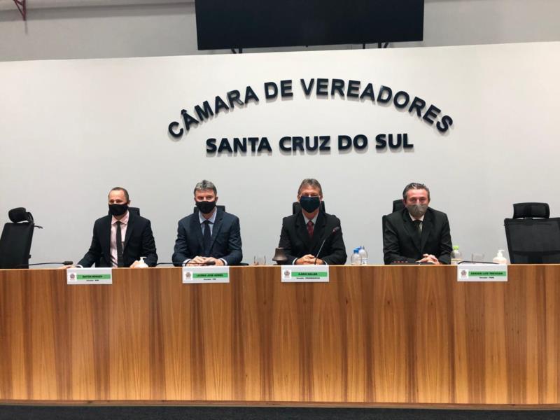 Formação da Mesa Diretora para 2021