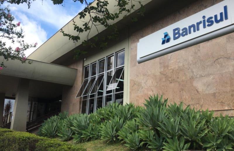 Agência do Banrisul do Centro segue fechada nesta quarta