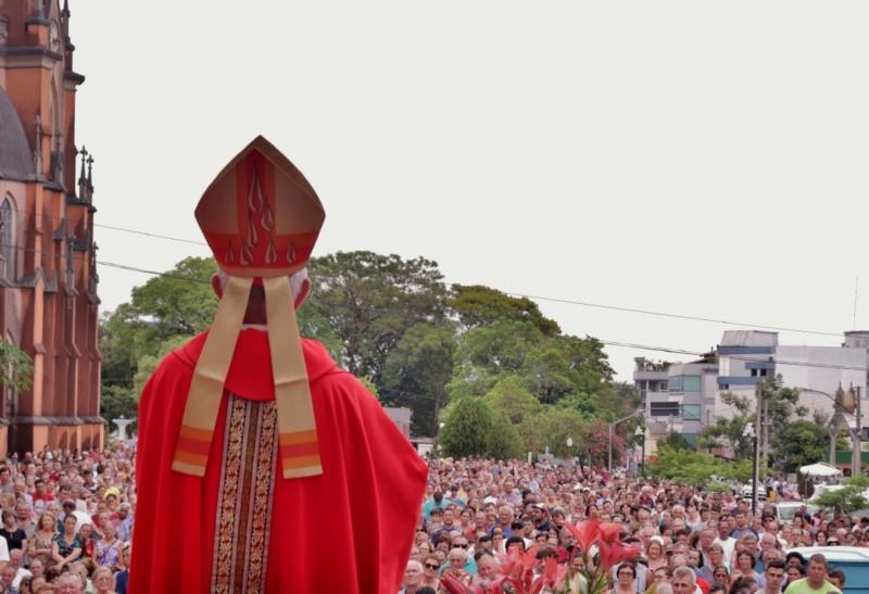 Missa será realizada na Igreja Matriz em três horários