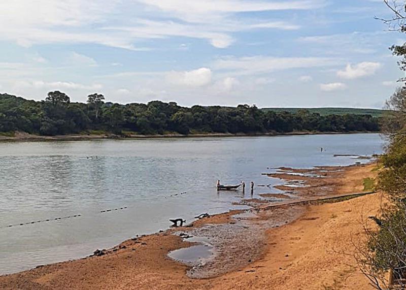 Rio Jacuí já sente os efeitos da seca