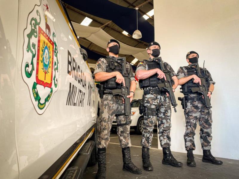 Trabalho da Força Tática é focado em crimes mais graves
