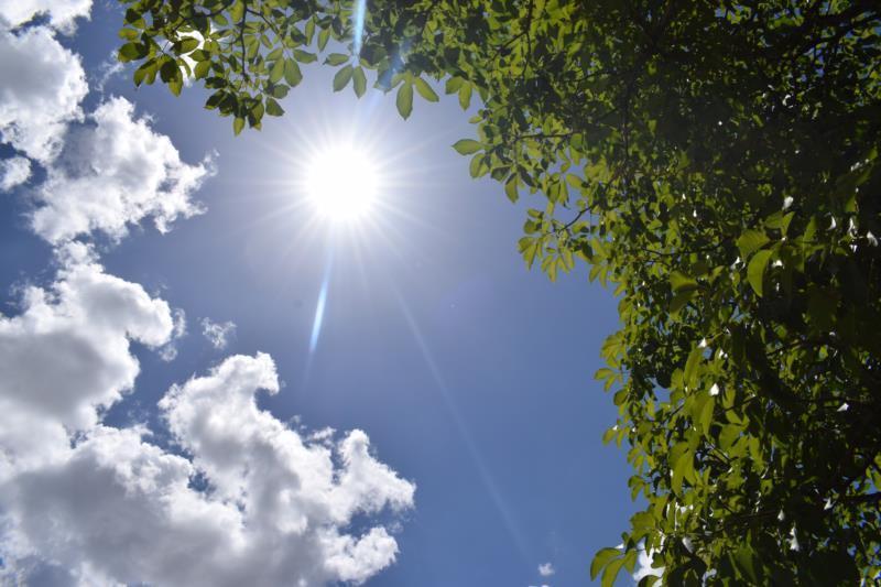 Pancadas isoladas de chuva devem ser registradas no domingo