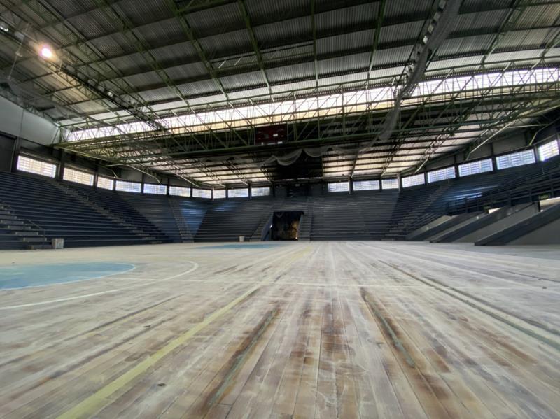 Ginásio Poliesportivo volta a sediar treinos de basquete