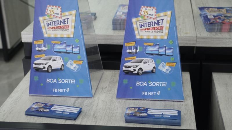 Empresa lançou sorteio de carro zero quilômetro