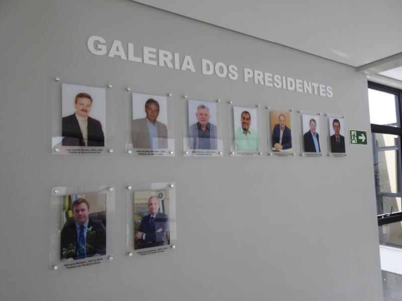 Galeria dos presidentes do Cisvale