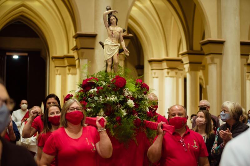 Evento vai contar com missas realizadas na Igreja Matriz e com procissão motorizada