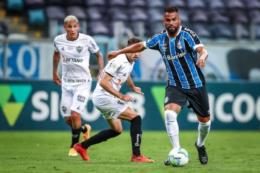 Com gol no final, Grêmio empata com o Atlético-MG