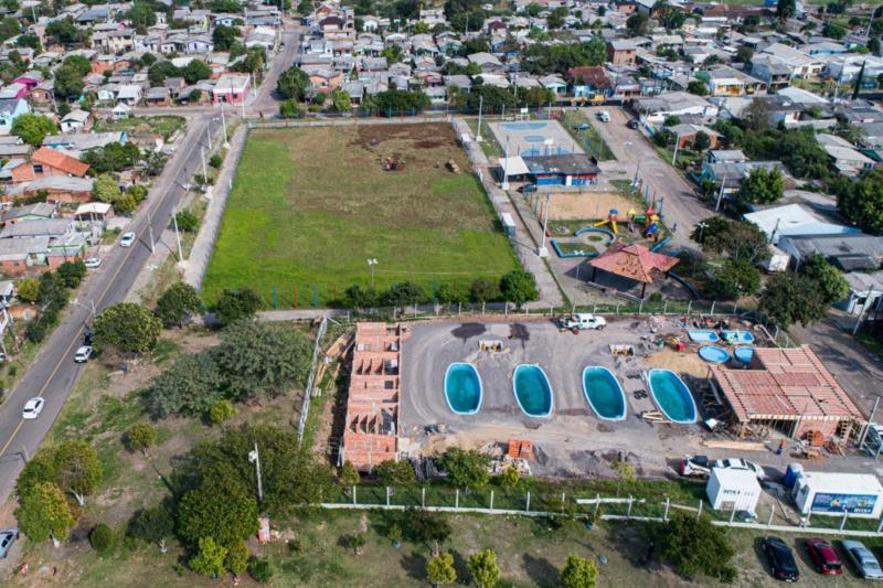 Lideranças da localidade mencionaram que 80% dos moradores não querem as piscinas