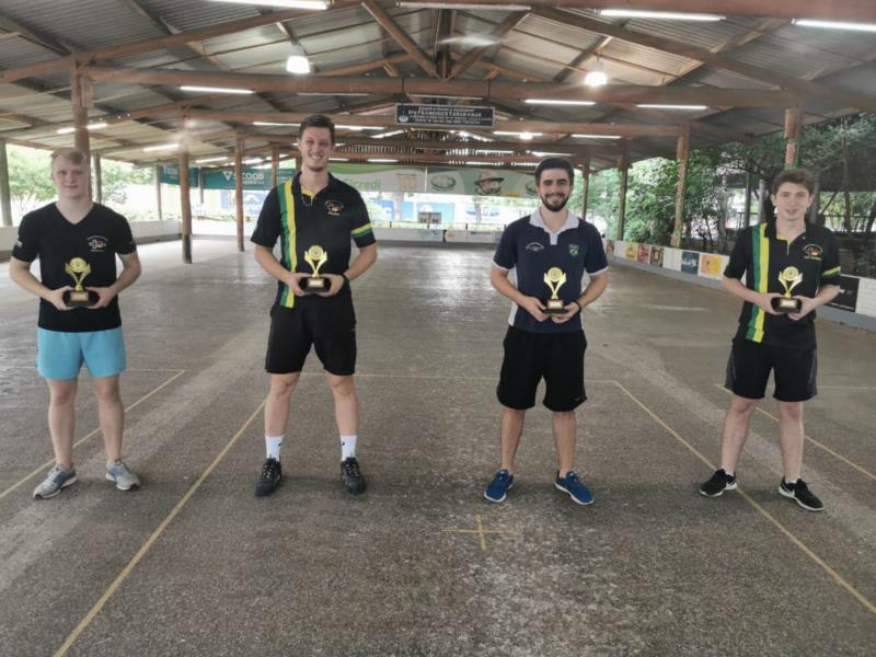 Jogos iniciam pelo masculino com formação das duplas por sorteio
