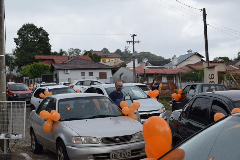 Carreata marca o Dia Mundial do Câncer em Santa Cruz