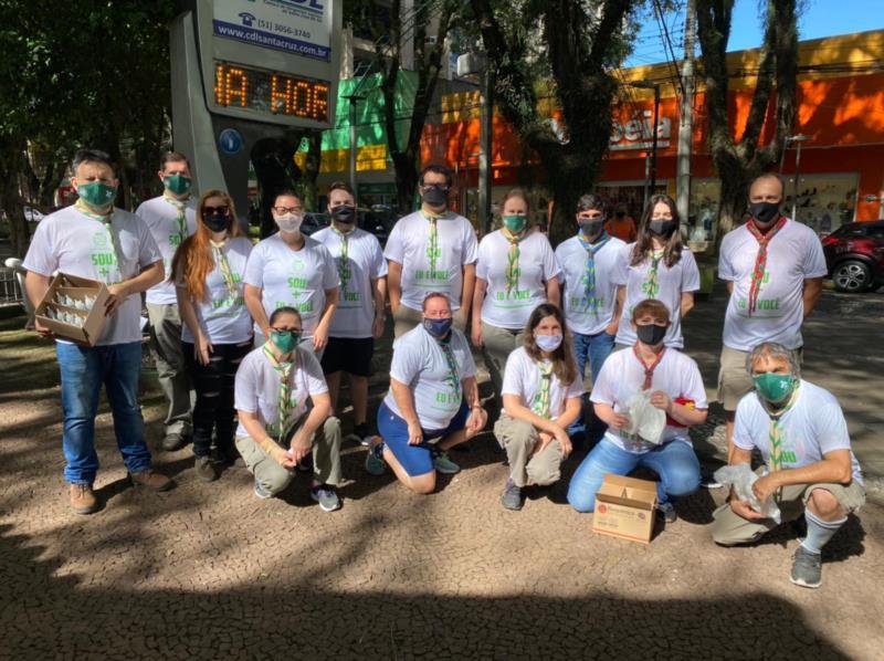 Ação foi promovida em parceria com a Prefeitura de Santa Cruz do Sul