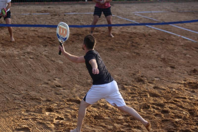 Copa de Beach Tennis movimenta sede campestre do UniCo