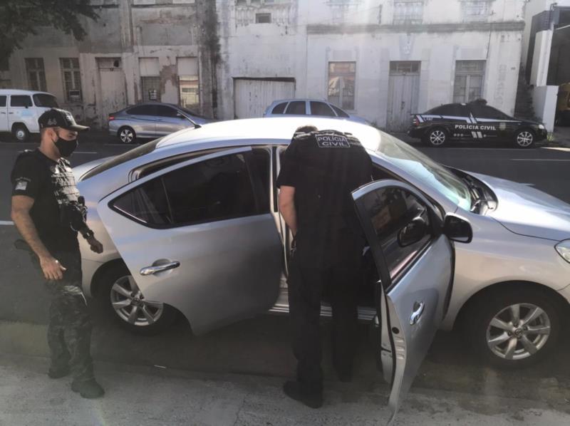 Polícia Civil apreende carro clonado em Santa Cruz