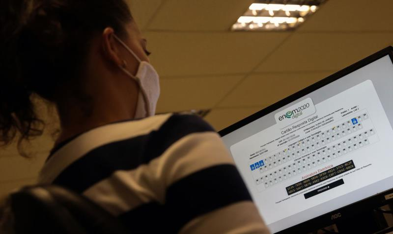 Candidatos também podem consultar o resultado no site do Inep