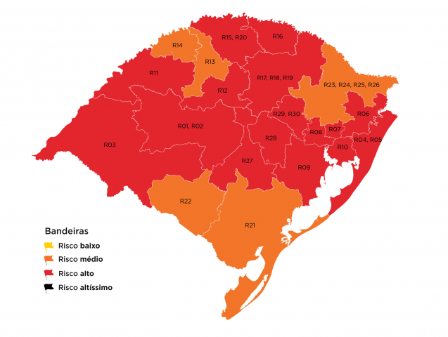 Mapa preliminar do Distanciamento Controlado recebe três pedidos de reconsideração