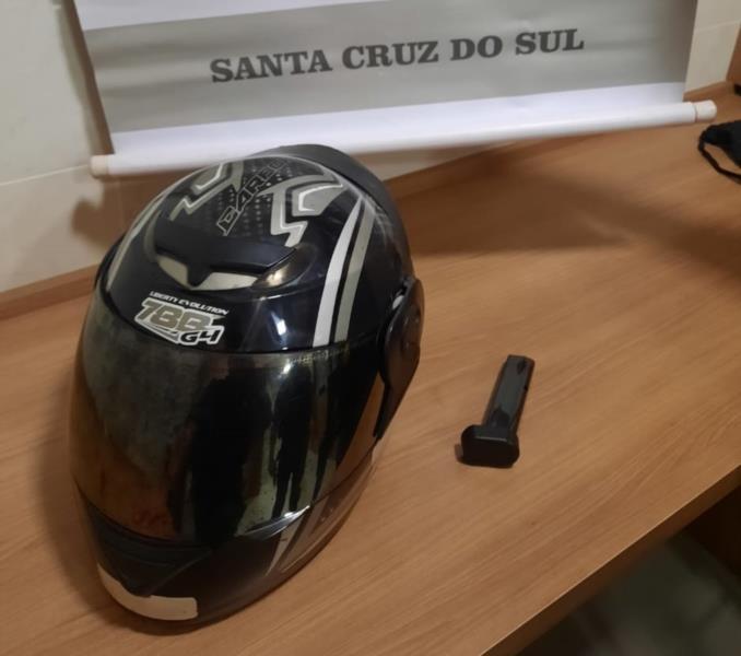 Criminoso é preso após executar homem a tiros em Santa Cruz